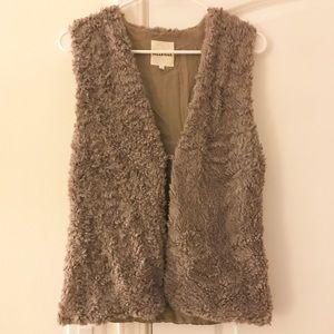 Brandy Melville Faux Fur Vest